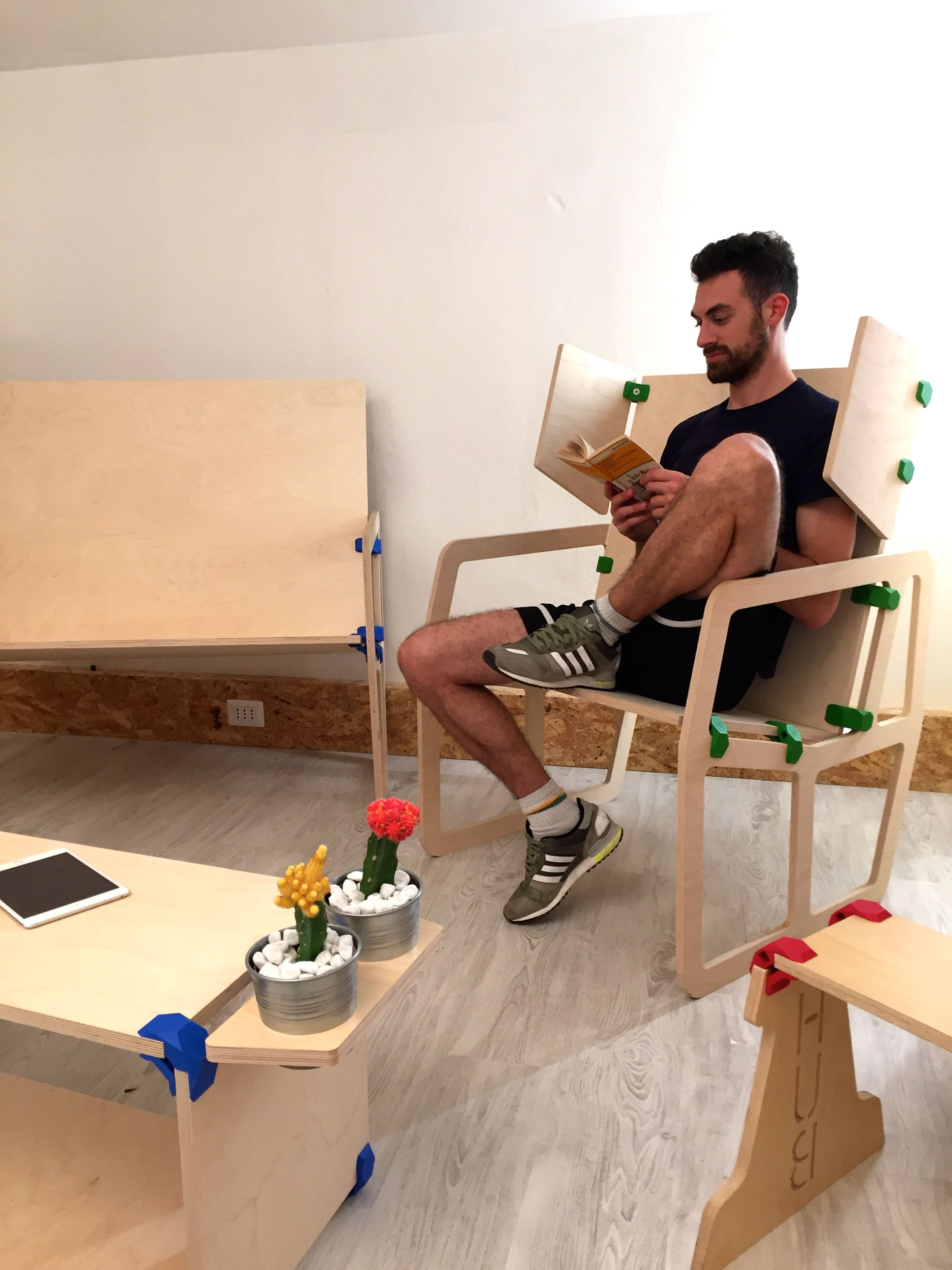 Furniture Designed by PlayWood Community, an open platform where ...
