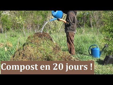 comment faire un compost en 20 jours jardin jardins jardin permaculture et jardinage. Black Bedroom Furniture Sets. Home Design Ideas