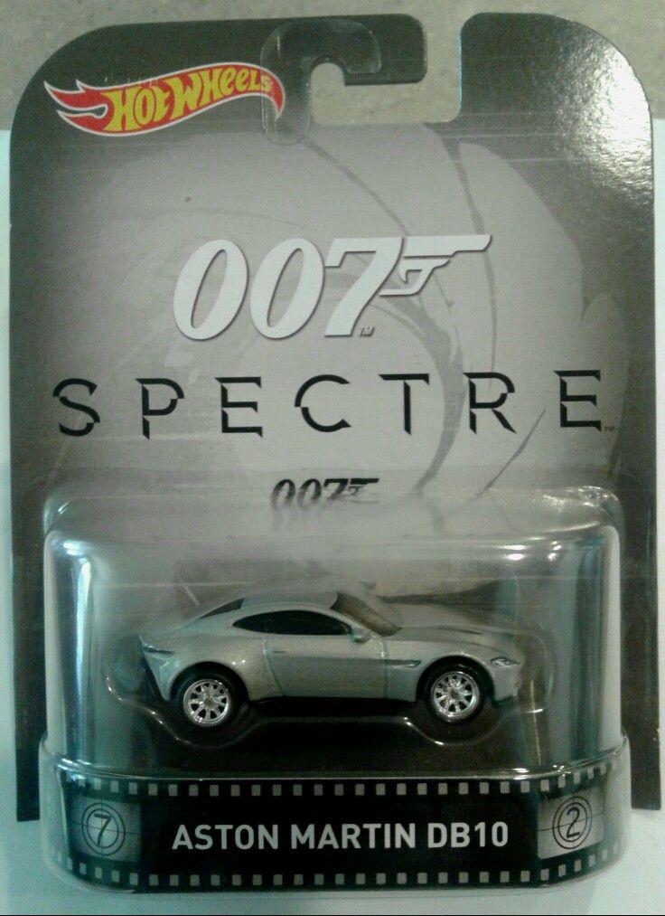 Spielzeug Autos Hot Wheels 1 64 James Bond Spectre Aston Martin Db10 Neu Softland La