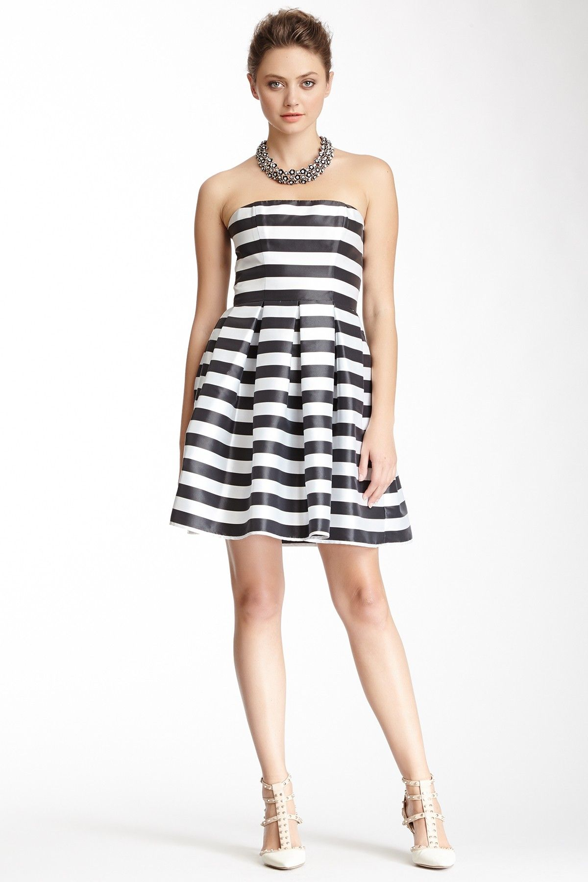 A.B.S. A.B.S. by Allen Schwartz Sweetheart Bustier Dress | Nordstrom ...