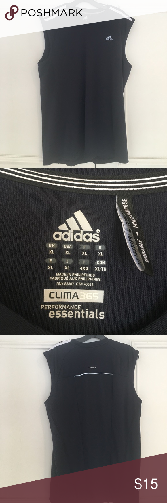 Adidas Clima 365 Performance Essentials T Shirt | RLDM