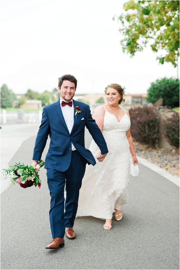 Courtyard by marriot richland wedding navy suit wedding