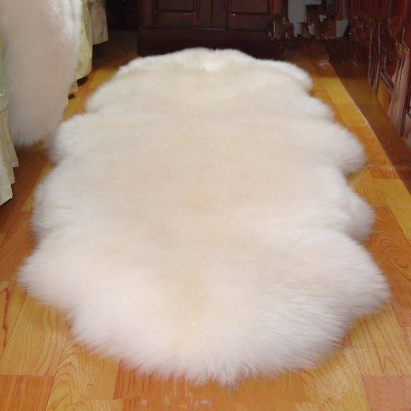 Carpet Mats Australian 100 Real Wool Carpet Rugs Chair Cover Pad Sheepskin In Living Room Floor Mat Rugs On Carpet Living Room Flooring Wool Carpet