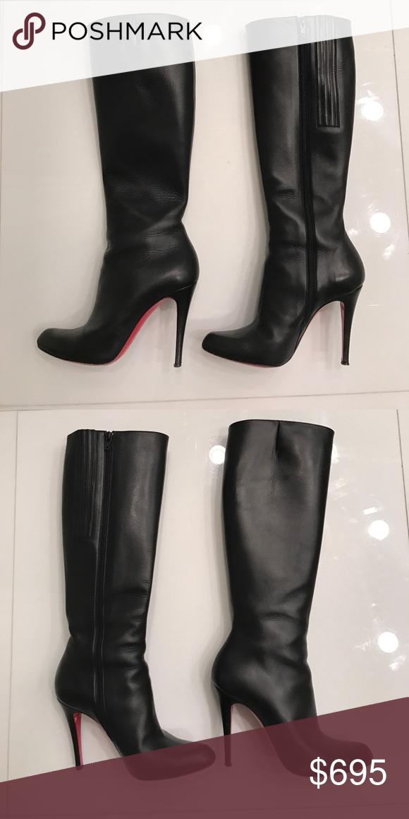 christian louboutin boots 38.5