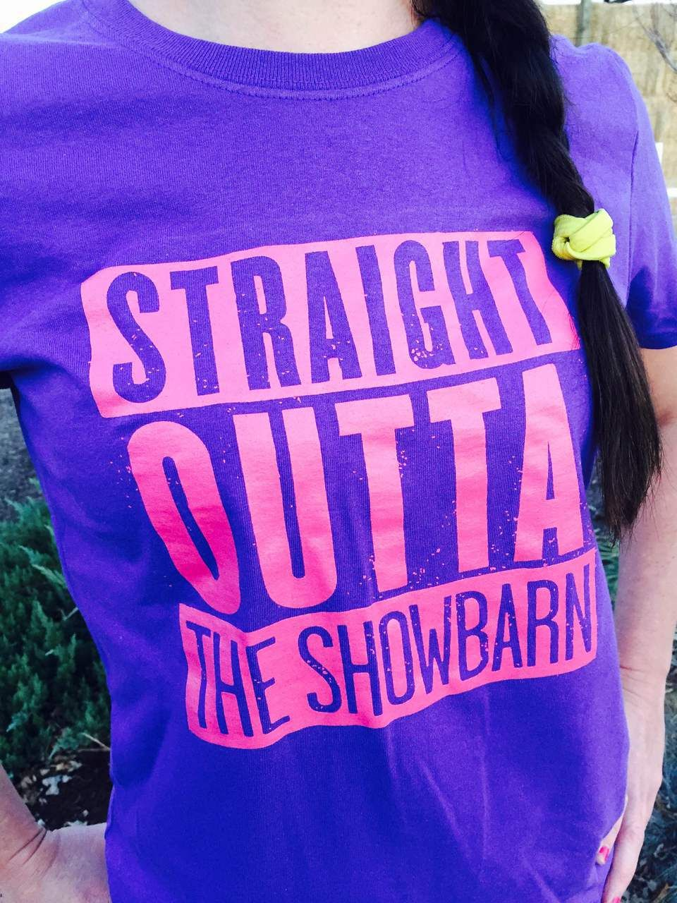 Straight Outta The Showbarn T-Shirts - Cattle Republic Clothing # show cattle
