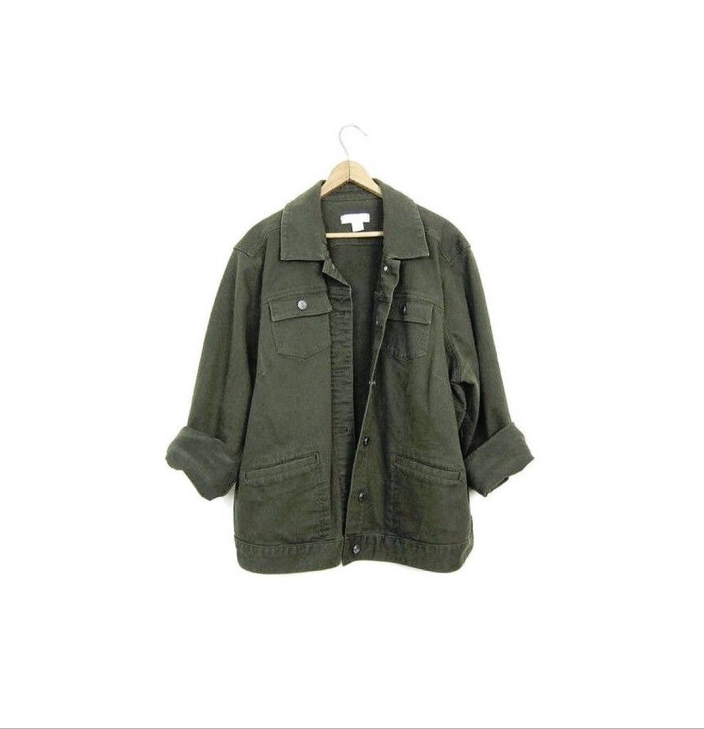 Abercrombie & Fitch Twill Military Shirt (4,430 INR