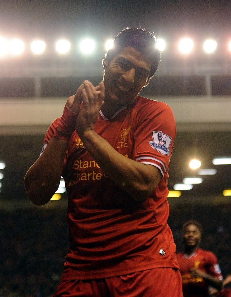 Hat-Trick Hero. Luis Suarez, 4/12/13 v Norwich City