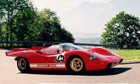 The actual race Abarth 2000 Sport Prototipo