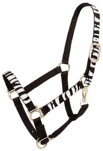 Animal Print Nylon Fashion Halter | ChickSaddlery.com
