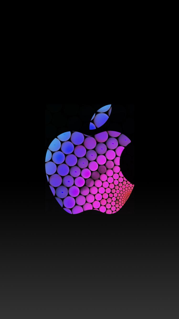 Apple Logo iPhone 6 Lock Screen Wallpaper ♥ iPhone