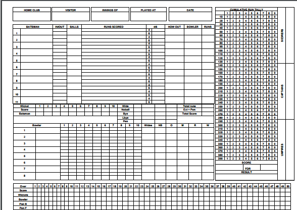 cricket-score-sheet-excel-555 | Useful Templates | Cricket score