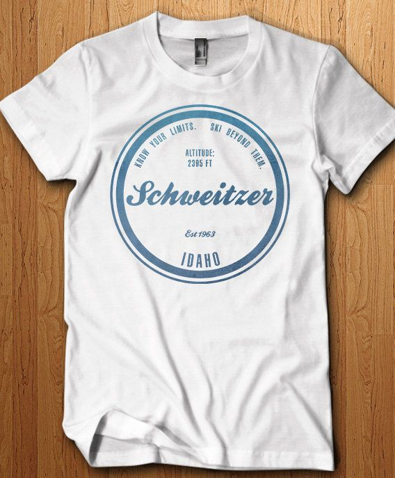 e7581de104 Schweitzer Ski Resort Shirt Idaho T Shirt Skiing Gift Idea Snowboarding  Winter Holiday Family Vacation Memories Snow Mountain Park Ski Tee