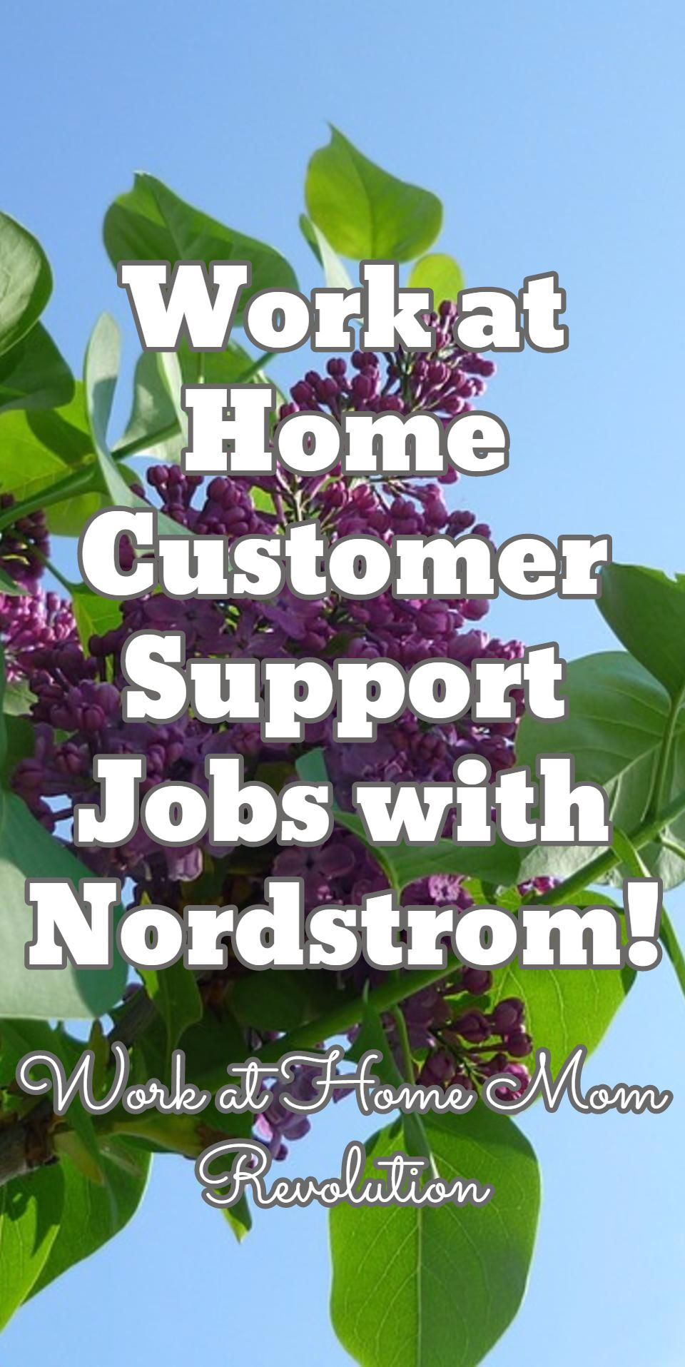 Work at Home Customer Support Jobs with Nordstrom! / Work at Home Mom Revolution