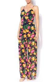 Lush Peonia Floral Jumpsuit.