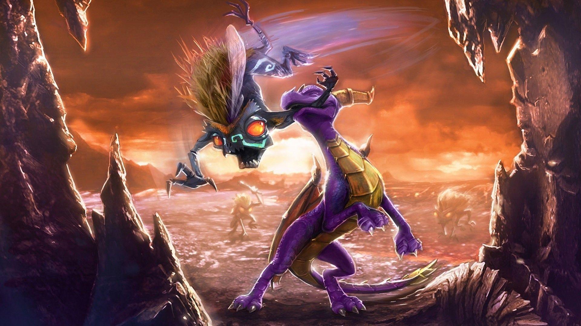 Uki 83 The Legend Of Spyro Wallpaper The Legend Of Spyro Hd