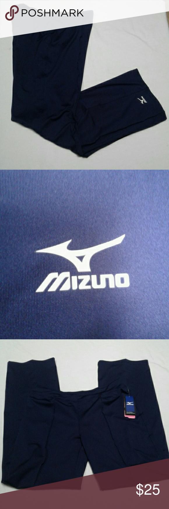 Nwt Mizuno Dri Lite Blue Volleyball Pants L Long Pants Mizuno Clothes Design