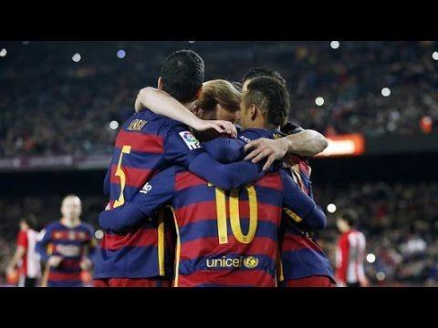 Barcelona vs Atletico Madrid 2-1 | RESUMEN 30/01/2016
