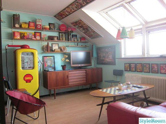 50-tal,retro,nostalgi,vardagsrum,teak,sideboard,soffbord ...