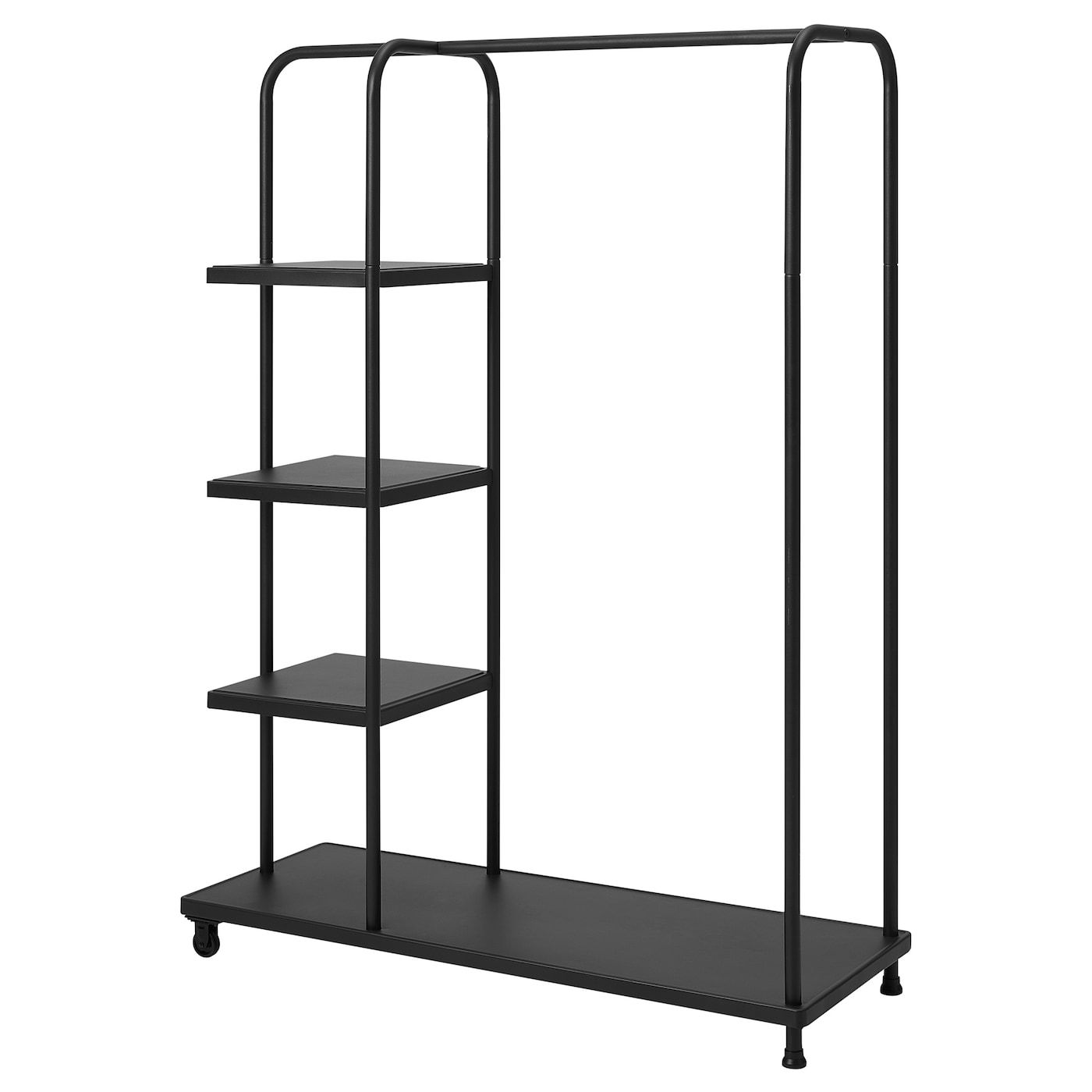KORNSJÖ Clothes rack, black IKEA in 2020 Diy clothes