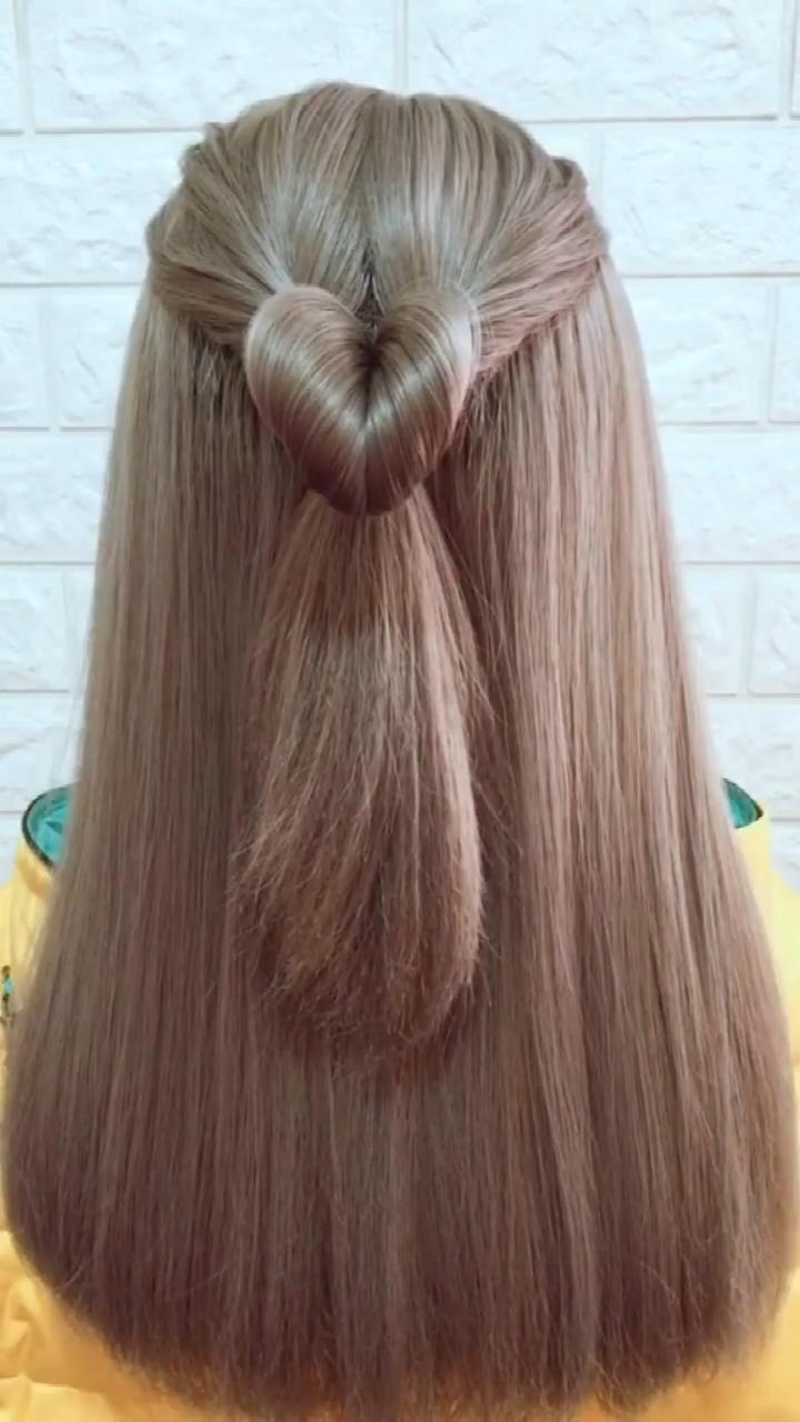 Hairstyle Tutorial 853 –   – #hairscolorideas #hairstyle #hairstylestutorials #i…