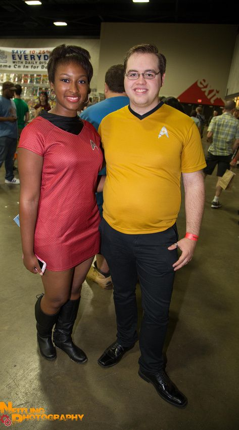 This was our Star Trek Cosplay at Derby City Comic Con 2013