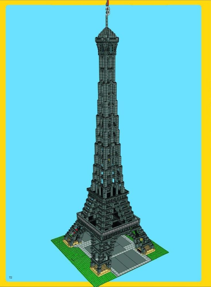 Advanced Models Eiffel Tower Lego 10181 Lego Creations Blandat