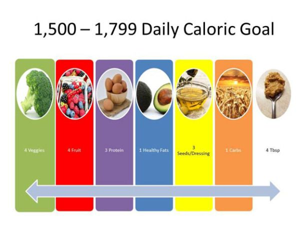 The Daily Caloric Goal for the Perfect Portions Control Plan - control plan