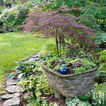 Hypertufa Troughs are a Garden Must-Have #japanesemaple