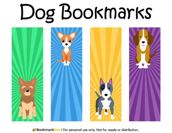 Free printable dog bookmarks download the pdf template at http free printable dog bookmarks download the pdf template at httpbookmarkbee pronofoot35fo Gallery
