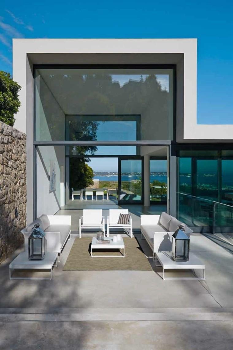 Canapés, Sofas und Sessel: 50 Ideen für moderne Außenbereiche | Garten