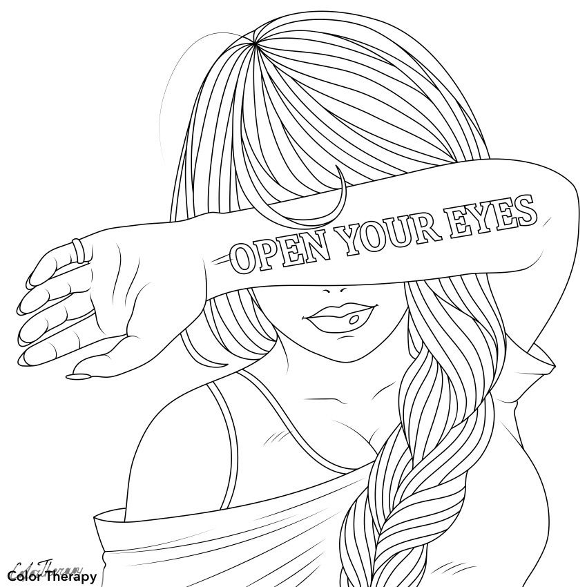 Pin By Color Therapy On Raskraski Love Coloring Pages Cute Coloring Pages Hipster Drawings