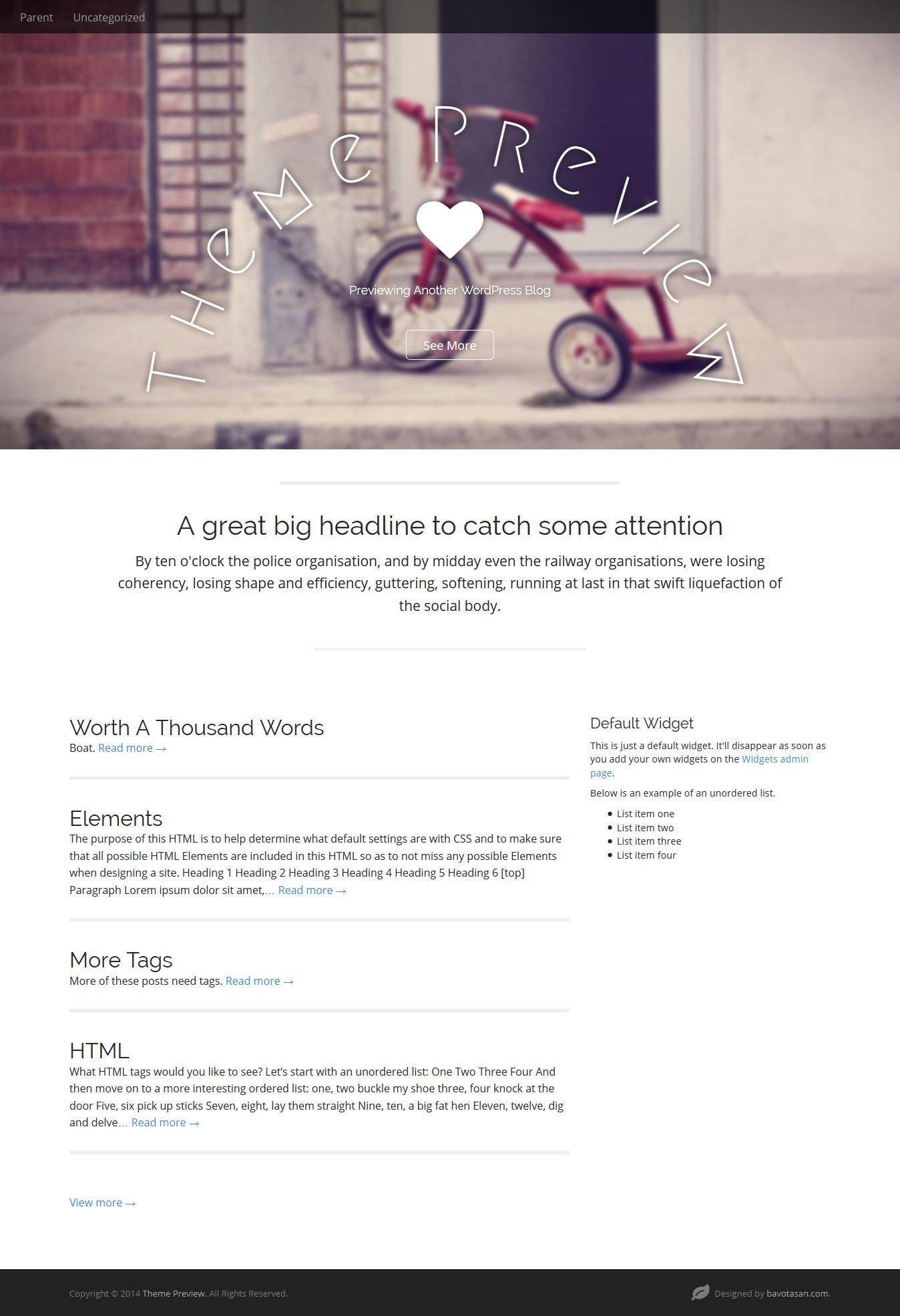 A freemium realy cool #Wordpress theme Demo: https://wp-themes.com ...