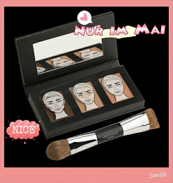 Ab sofort unser Mai-Special:  Das Sculpting Trio Konturen geben deinem Gesicht eine unglaubliche Wirkung.  Mit den Anleitungen ist es ganz einfach eine tolle Kontur zu zaubern.  Zu dem Trio, erhälst du den perfekten Pinsel als Geschenk dazu  Also...los geht's. .....so lange der Vorrat reicht: https://www.youniqueproducts.com/JeannetteW/products/kudos#.VzHKFMtCTqA
