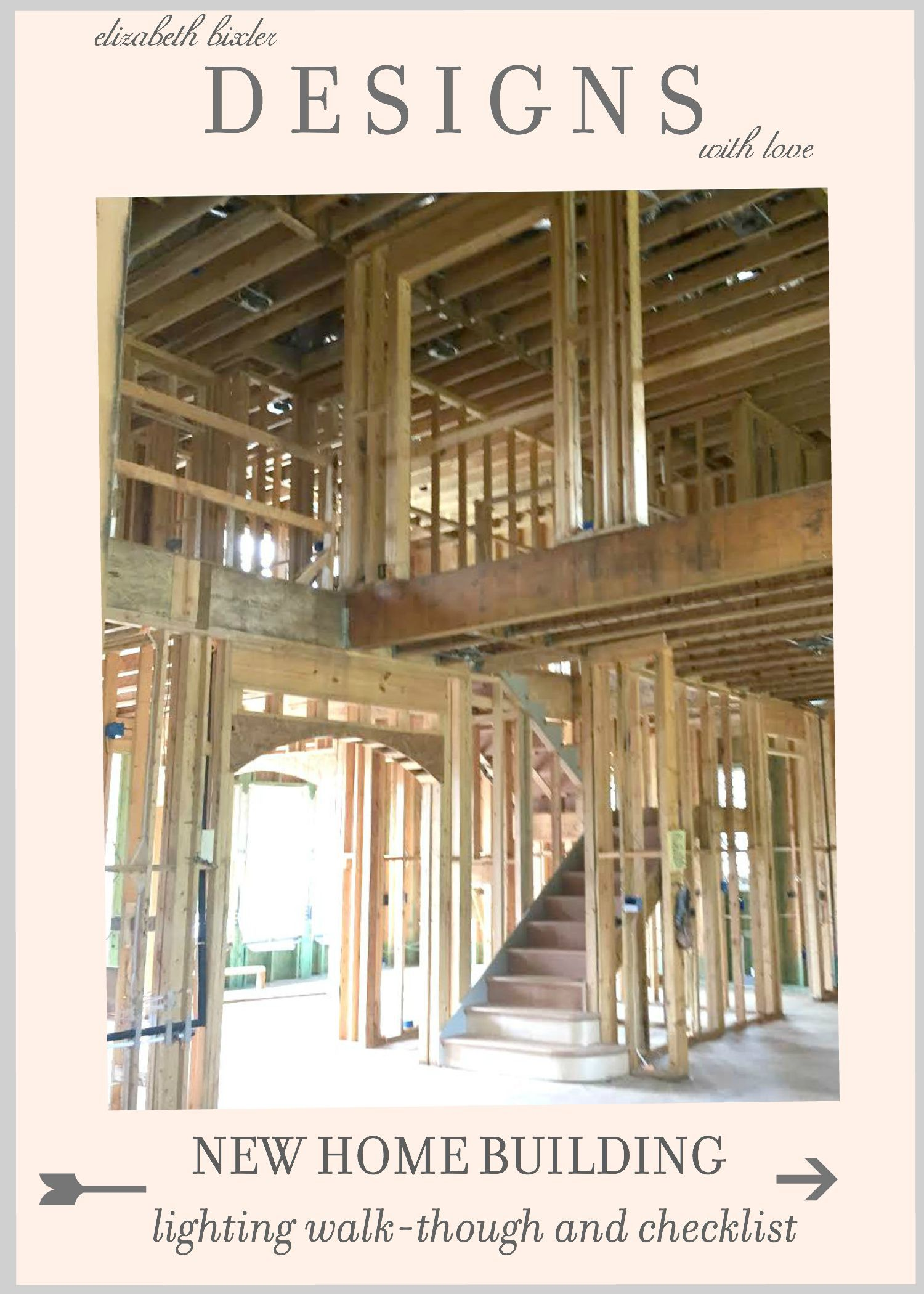 New Home Building Lighting Walk Through Checklist Tips