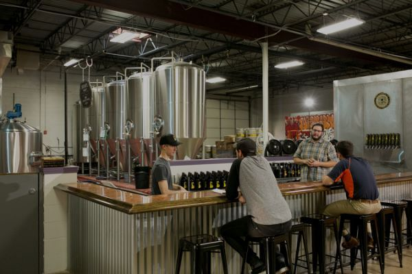 Our Taproom At The Brewery Is Open Tap Room Home Home Appliances