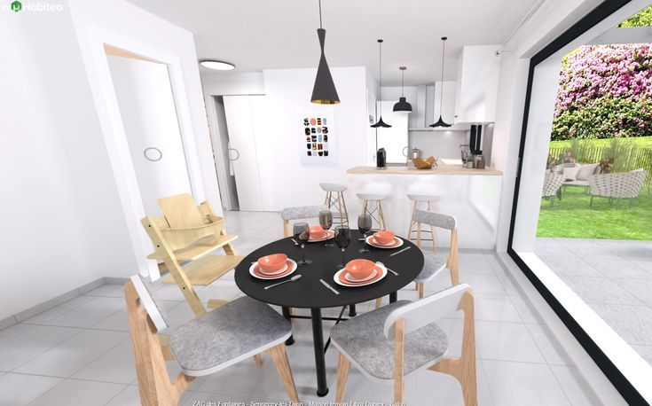 Idée relooking cuisine u2013 Maison moderne à Dijon (et sa région - modele de cuisine americaine