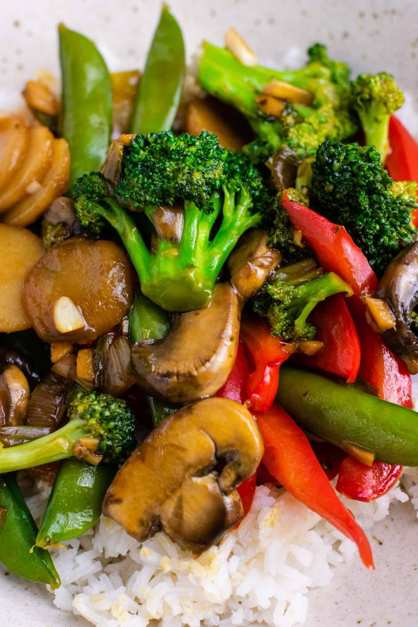 Veggie Stir Fry Recipe With Homemade Stir Fry Sauce This Is Amazing And Has So Muc Veggie Stir Fry Recipes Vegetable Stir Fry Recipe Fried Vegetable Recipes