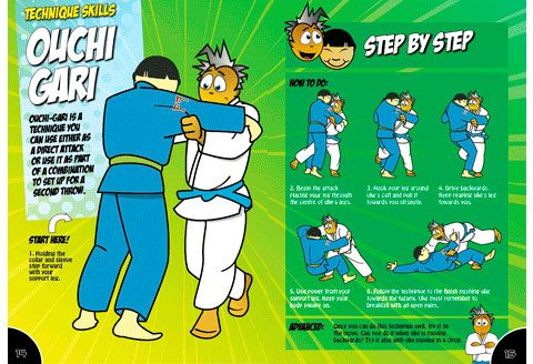 Karate Moves Step By Step For Kids Judo Technique: Ouchi ...