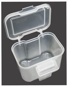 Mini Size Clip On Plastic Storage Box With Lid For Belt Or Pocket