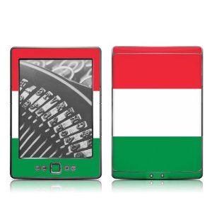 43900bac2ec61 Kindle touch vestido com as cores da Itália... Tem uma capinha com ...