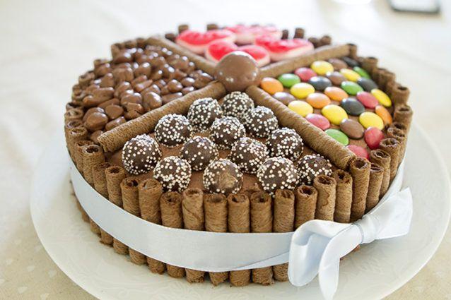 Sjokoladekake For Oss Som Ikke Kan Pynte Kake I 2019