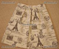 Romantic Box Pleated Skirt