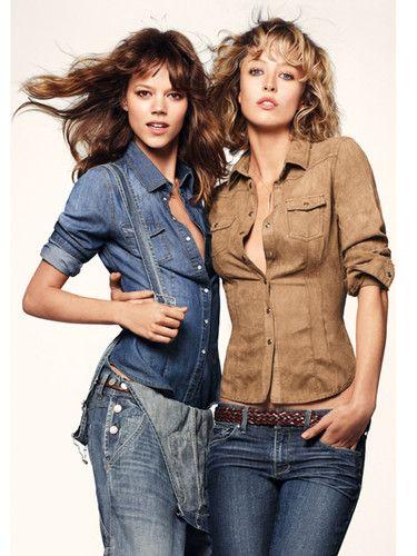 Loli New Women Ladies' Slim Denim Long Sleeve Shirt Blue Brown 36-42 Versatile