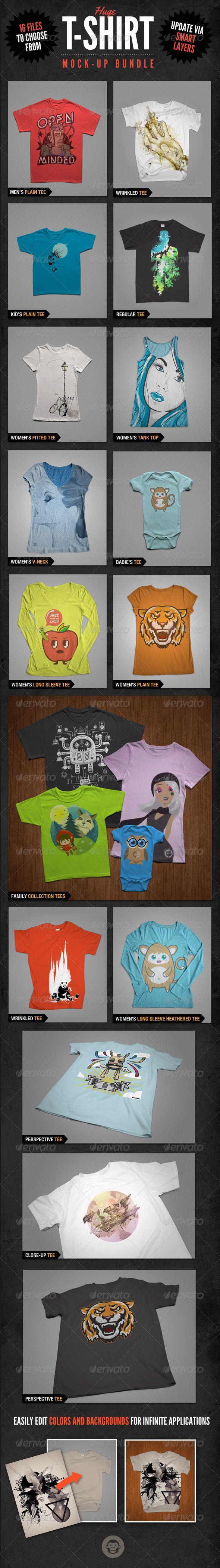 Download T Shirt Mockups Bundle Pack Clothing Mockup T Shirt Design Template Shirt Mockup