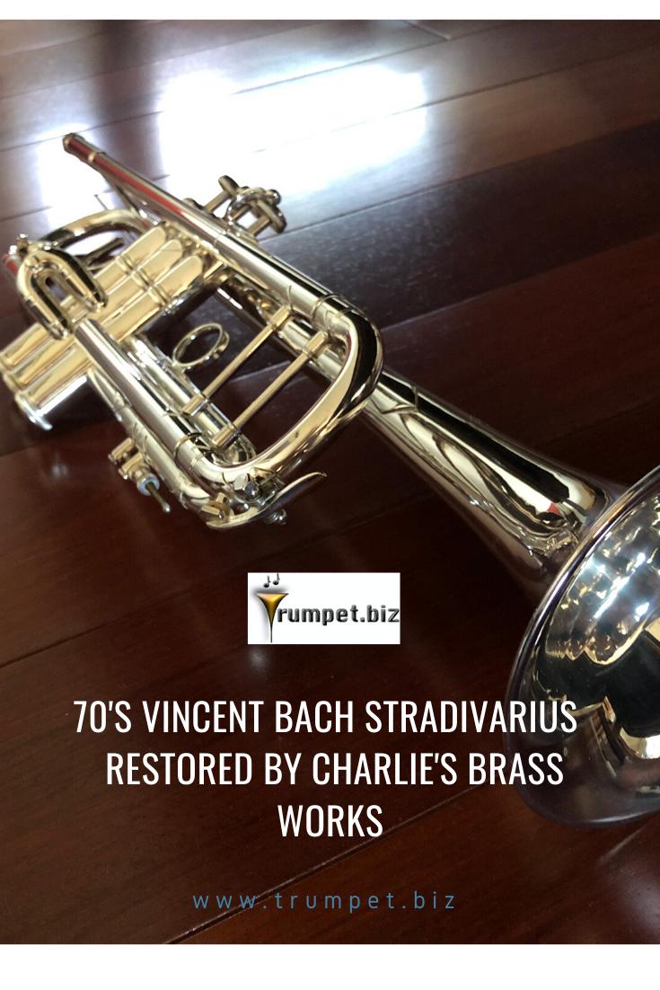 70 S Vincent Bach Stradivarius Trumpet Professional Trumpet Trumpet Trumpets