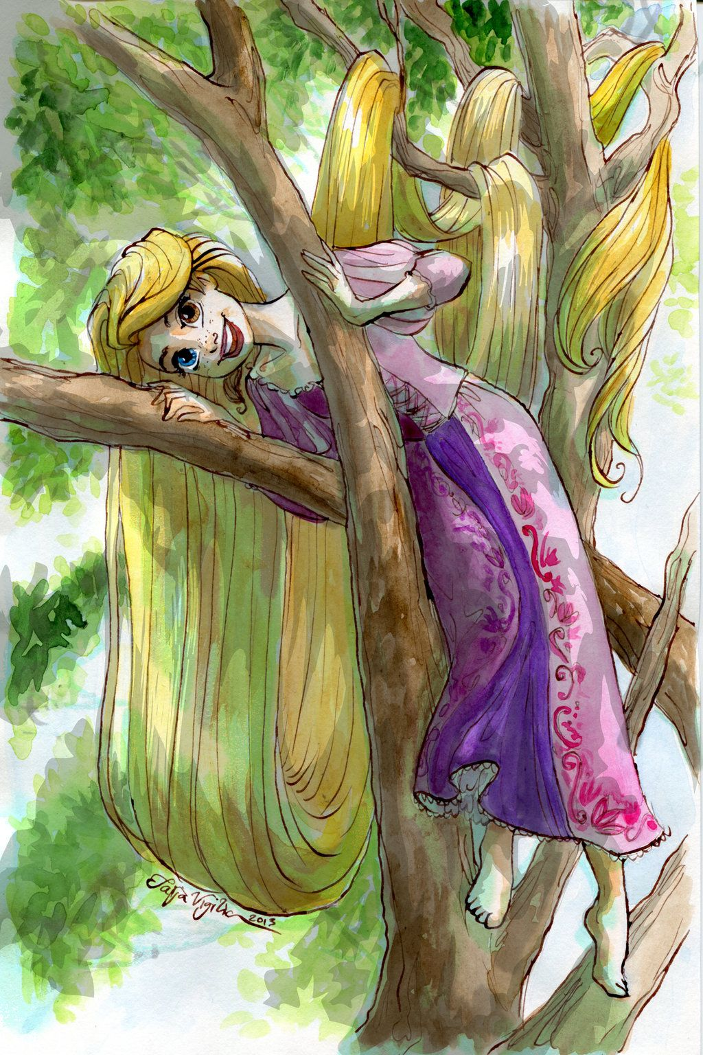 Rapunzel Tree