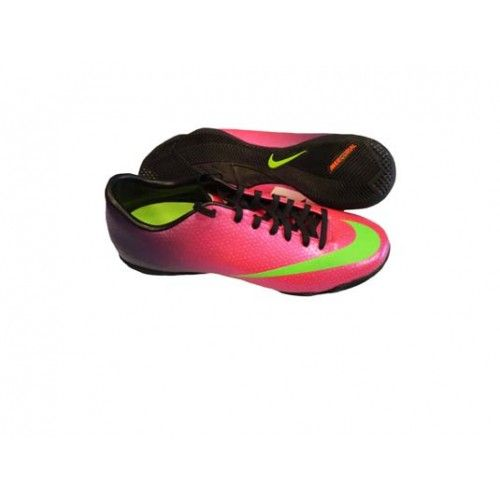 bd39900e0e9a  NIKE MERCURIAL VICTORY IV IC FIRE BERRY ELECTRIC GREEN -- Mercurial  Victory IV