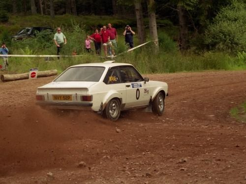 Ford Escort mark II rally car - Colin McRae