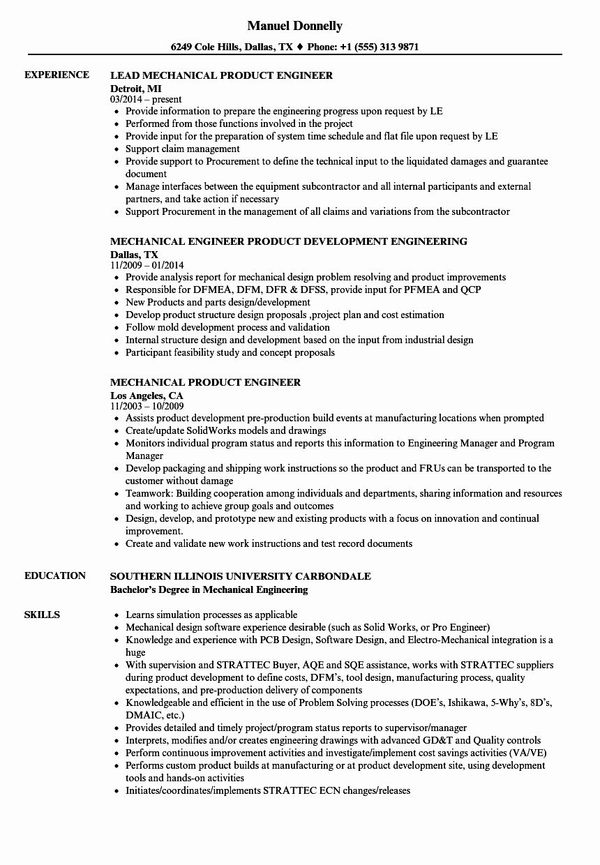 product designer resume summary