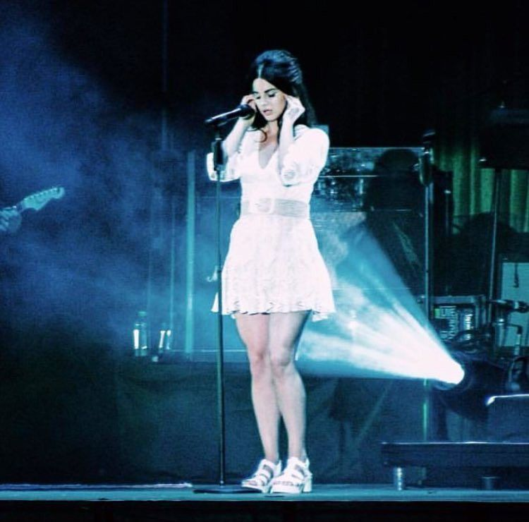 Lana performing at 'Park Live Festival', Moscow, Russia
